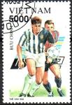 Stamps Asia - Vietnam -  CAMPEONATO  DE  FÚTBOL  DE  COPA  EUROPEA.  Scott 2367.