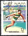 Stamps Asia - Vietnam -  LANZAMIEMTO  DE  DISCO.  Scott 926.