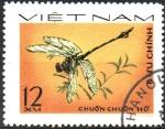 Stamps Asia - Vietnam -  LIBELULA.  Scott  856.