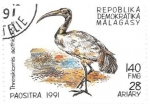 Stamps Madagascar -  aves