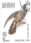 Sellos de Africa - Madagascar -  aves