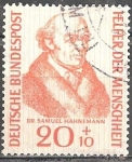 Stamps : Europe : Germany :  100 - Doctor Samuel Hahnemann