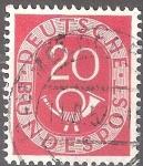 Sellos del Mundo : Europa : Alemania : Corneta postal.