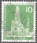 Sellos del Mundo : Europa : Alemania :  Iglesia Memorial Kaiser Wilhelm(Berlín).