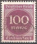 Sellos del Mundo : Europa : Alemania : Numeral.Imperio alemán.