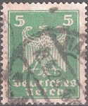 Sellos de Europa - Alemania -  Águila imperial.
