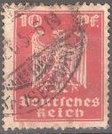 Sellos del Mundo : Europa : Alemania : Águila imperial.