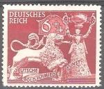Sellos del Mundo : Europa : Alemania : 10.Anv de sociedad alemana de orfebres artísticos.Imperio alemán.