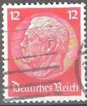 Sellos del Mundo : Europa : Alemania : Paul von Hindenburg (1847-1934) Presidente.Imperio alemán.