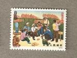 Stamps Asia - China -  Reunion campesinos