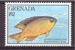 Stamps Grenada -  serie- Arrecife de coral