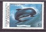 Sellos del Mundo : America : Dominica : serie- Salvar a las ballenas