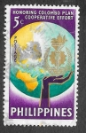 Stamps : Asia : Philippines :  843 - VII Aniversario de la Admisión de Filipinas al Plan Colombo
