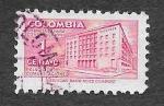 Sellos de America - Colombia -  RA41 - Palacio de Comunicaciones