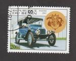 Stamps : Africa : Benin :  Auto Stanley de 1913