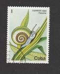 Stamps : America : Cuba :  Caracol Polymita