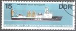 Sellos del Mundo : Europa : Alemania : Barcos alemanes de alta mar.Carguero pesado MS Brocken.