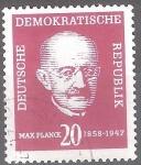 sellos de Europa - Alemania -  I Centenario del nacimiento de Max Planck.