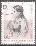sellos de Europa - Alemania -  200 aniv del nacimiento de Bettina von Arnim.