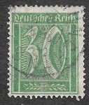 Stamps : Europe : Germany :  141 - Número