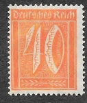 Stamps : Europe : Germany :  142 - Número