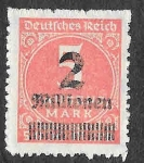 Stamps Germany -  278 - Número