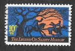 Stamps United States -  1548 - Leyenda de Sleepy Hollow