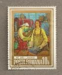 Stamps Romania -  Pintura de trabajadores