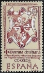 "Stamps : Europe : Spain :  Forjadores de América -  ""La doctrina cristiana""  1966 50 cts"