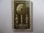 Stamps : Europe : Spain :  Ed:Es-Fp 213 - España-Colonias- Fernando Poo - Ayuda a Sevilla.