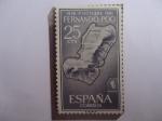 Stamps : Europe : Spain :  Ed:ES-FP 199 - España Colonias- 25 Aniv. de la Exaltación del General Francisco Franco (1936.1961)-