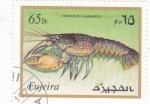 Stamps United Arab Emirates -  CRUSTACEO