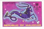 Stamps : Asia : Maldives :  HORÓSCOPO-CAPRICORNIO