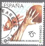 Sellos del Mundo : Europa : España : Campeonatos del mundo de baloncesto.