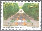 Sellos del Mundo : Europa : España : Jardines Bahh-e-Shahzadeh (Irán).