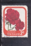 Stamps : Oceania : New_Zealand :  FLORES- ROSA