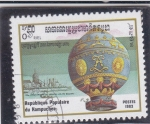 Stamps : Asia : Cambodia :  GLOBO AEROSTATICO