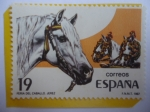 Stamps : Europe : Spain :  Ed:ES 2898 - Caballos (Equus Ferus Caballus)- Serie: Fiestas Populares - Feria del Caballo- Jerez.