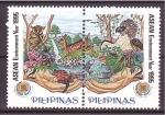 Sellos del Mundo : Asia : Filipinas : Año protección del Medio Ambiente