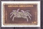 Sellos del Mundo : America : Granada : serie- Crustaceos