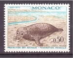 Stamps : Europe : Monaco :  20 aniv. federación mundial protec. de los animales