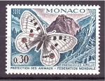 Sellos del Mundo : Europa : Mónaco : 20 aniv. federación mundial protec. de los animales