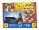 Sellos de Asia - Bahrein -  refinerias