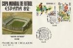 Stamps Spain -  Mundial de Fútbol España 82 -