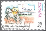 Sellos del Mundo : Europa : España : Correspondencia epistolar escolar
