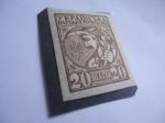 Sellos de Europa - Ucrania -  Ucrania- Campesino Ucraniano. 1918 - Sello-Dinero.