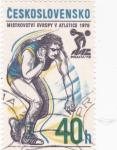 Stamps : Europe : Czechoslovakia :  ATLETISMO -PRAGA´78