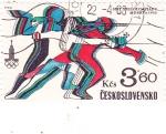 Stamps : Europe : Czechoslovakia :  OLIMPIADA MOSCÚ