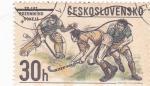 Stamps Czechoslovakia -  HOCKEY