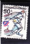 Stamps Czechoslovakia -  SPARTAKIADA